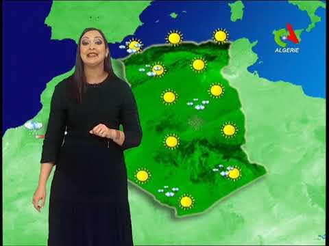 La météo  du Samedi 16.02.2019 Canal Algérie 🇩🇿