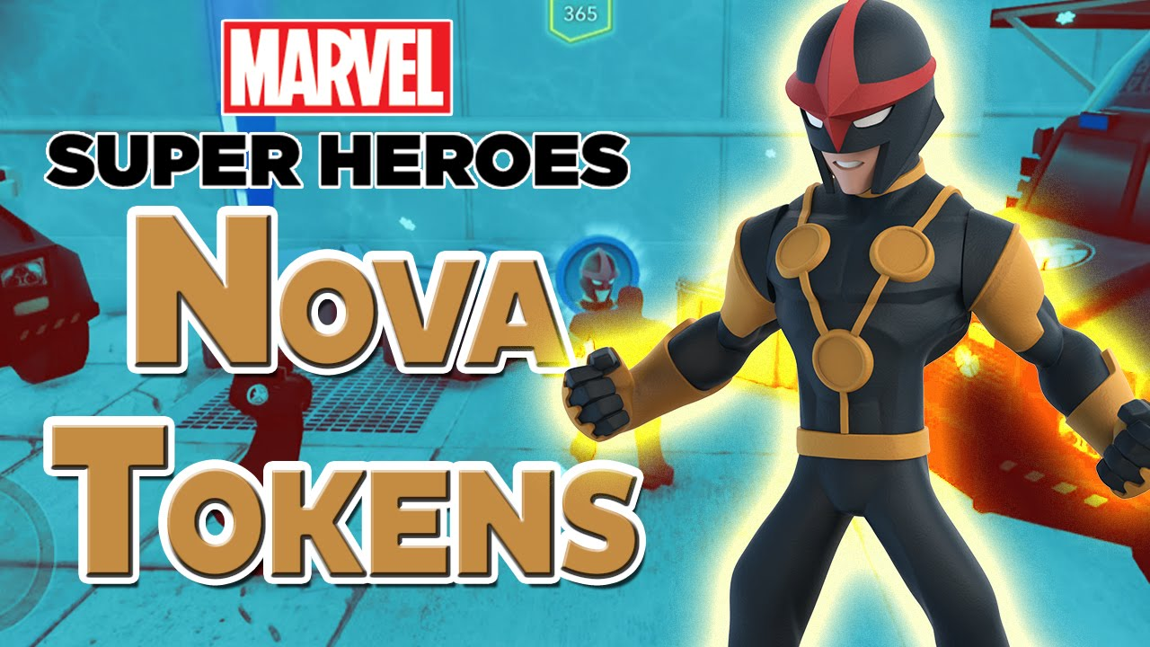 disney infinity 20 all nova crossover tokens in avengers