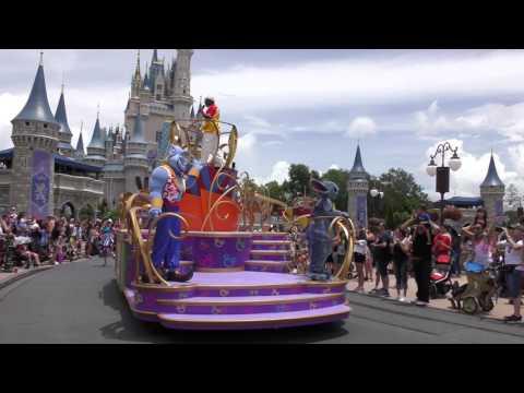 Magic Kingdom Parades.  Move it! Shake it!  Festival of Fantasy.  20th June 2017