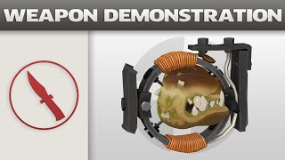 Weapon Demonstration: Snack Attack