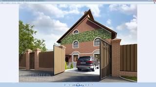 видео 3D-визуализация