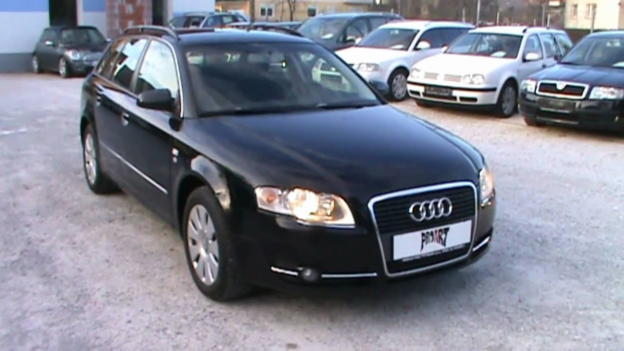 2006 audi a4 avant 2 0 tdi multitronic full review start up engine and in depth tour youtube. Black Bedroom Furniture Sets. Home Design Ideas