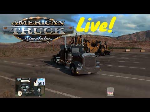 American Truck Simulator - Nevada a Novo México - Live - #18