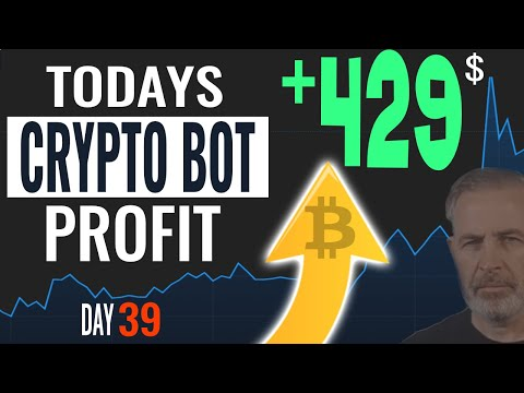 Day 39 Crypto Trading Bot Results