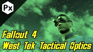 Fallout 4 Mod West Tek Tactical Optics - Night Vision Thermal Vision and More