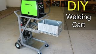Making a Welding Cart - How to DIY
