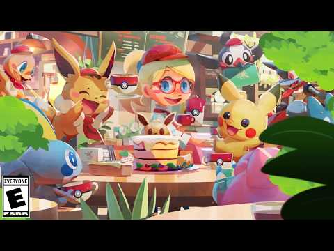 Mix it up with Pokémon Café Mix!