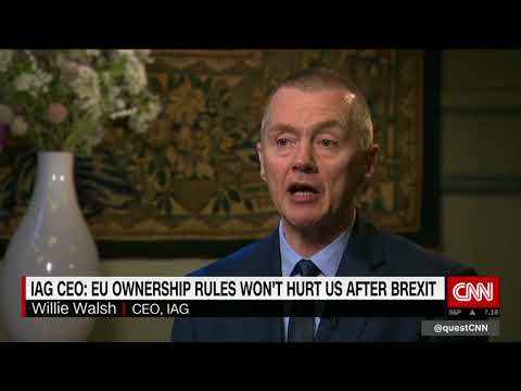 IAG CEO Weighs in on Brexit Concerns