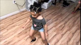 "BABY  K  doing the ""Watch Me"" (Whip/ Nae Nae) dance"