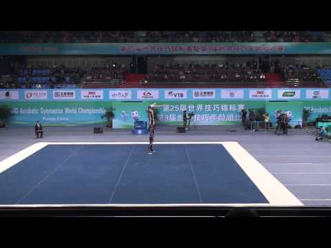 Sedochenkoff and Boynton Combined World Age group championships 13-19 mix pair