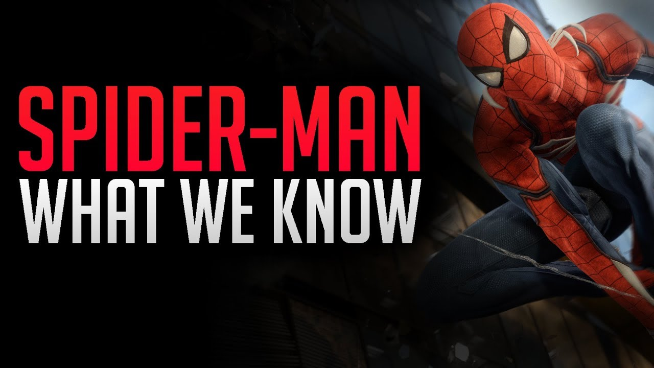 Spider man PS4 | What we know