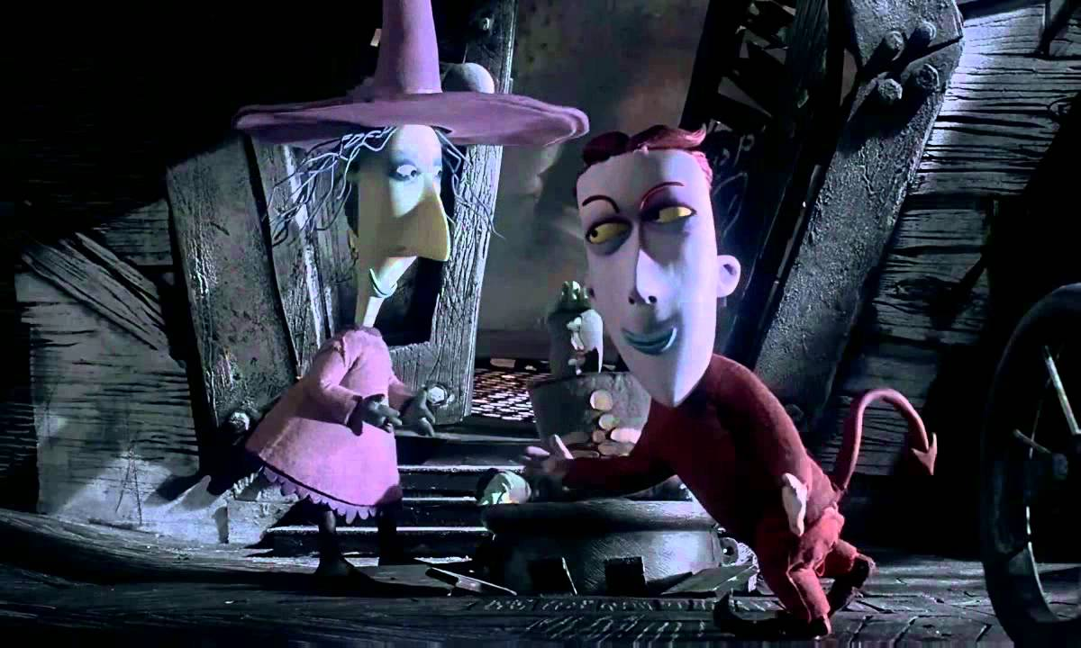 The Nightmare Before Christmas - Kidnap the Sandy Claws HQ - YouTube