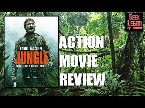 JUNGLE ( 2017 Daniel Radcliffe ) Wilderness Survival Action Movie Review