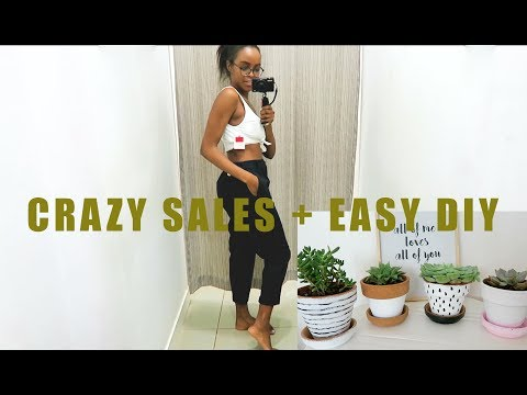 CRAZY SALES, EASY HOME DIY + BEYONCÉ FEVER | VLOG | THIS IS ESS