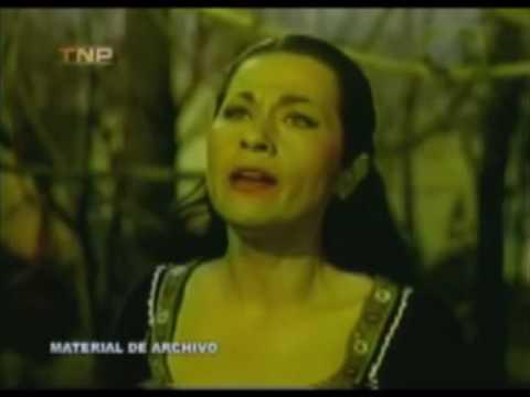 "Yma Sumac, The Peruvian Songbird, sings ""Chuncho."""