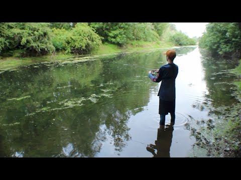 Micro Fishing In TINY CREEK!!!