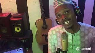 Fake Love - Wizkid x Duncan Mighty (Hausa Cover By Namenj)