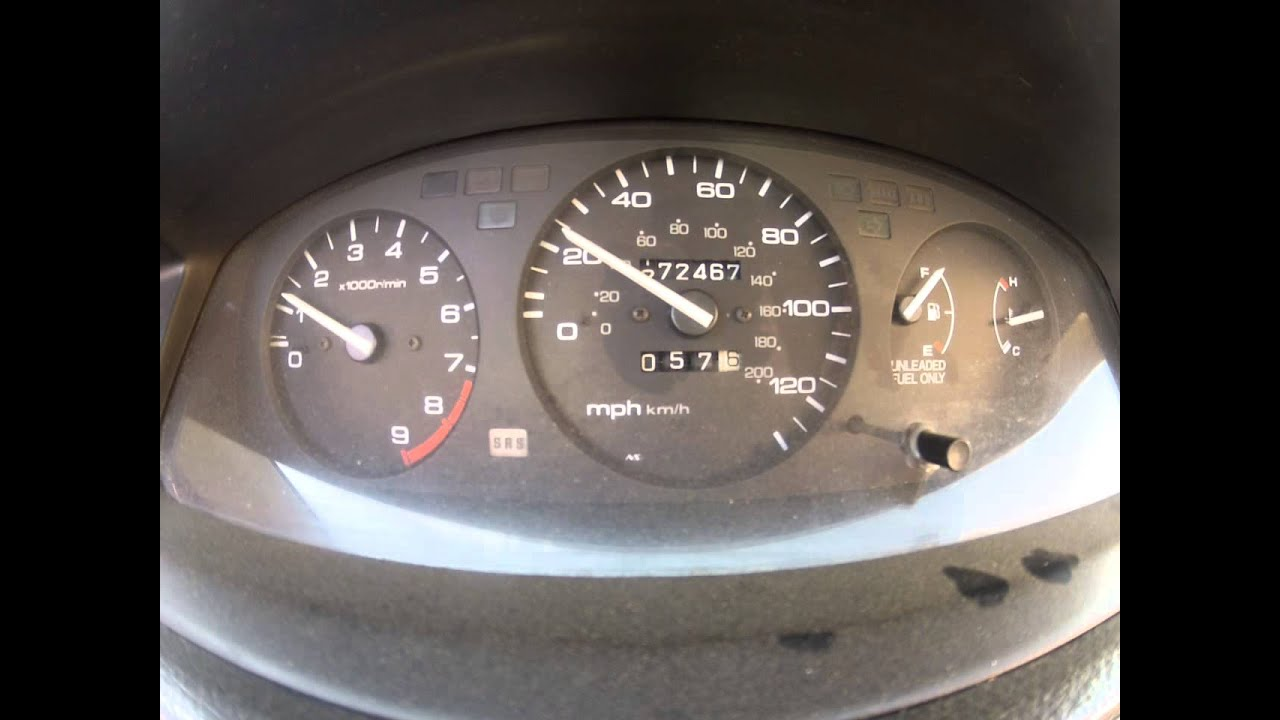 1992 Honda Civic Intermittent RPM Gauge issue need input