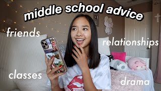 MIDDLE SCHOOL ADVICE (that i'll be taking to high school) | Nicole Laeno