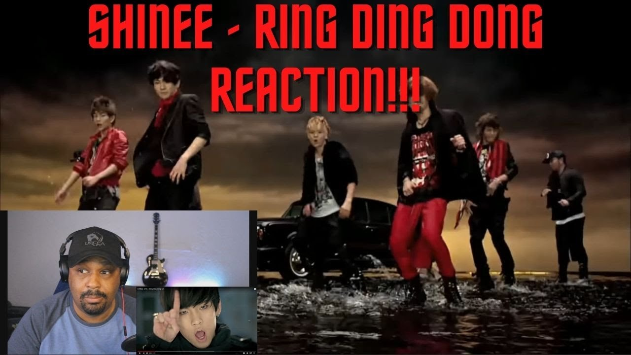 SHINee - Ring Ding Dong (Reaction) 샤이니 링 딩동 - YouTube