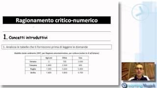 QUIZ DI LOGICA E TEST PSICOATTITUDINALI -  Ragionamento Critico Numerico