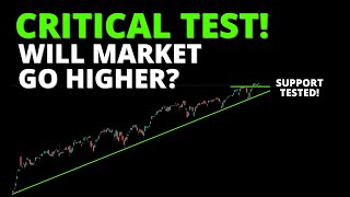 CRITICAL TEST! Will Market Go Higher? (S&P500, SPY, QQQ, DIA, IWM, ARKK, BTC)