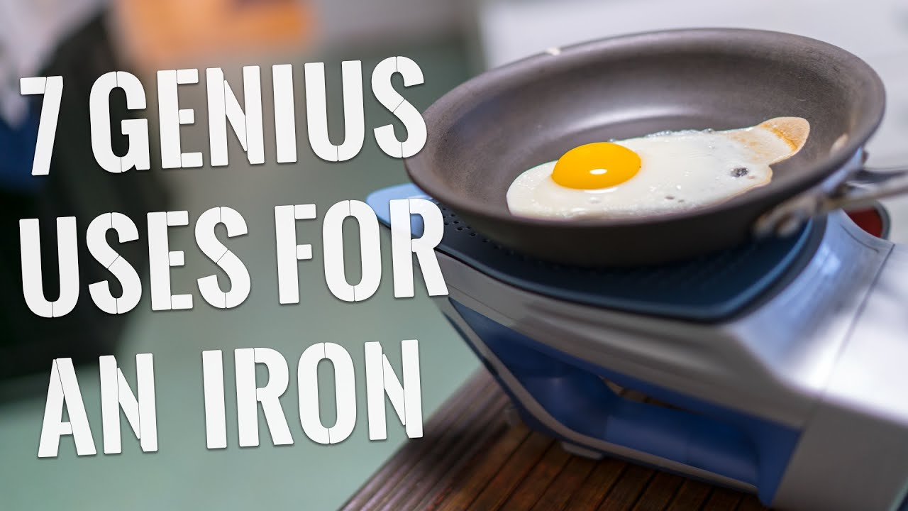 I Is For Iron ~ Genius uses for an iron you have to try youtube