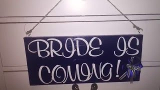 DIY | WOODEN SIGN | WEDDING DIY