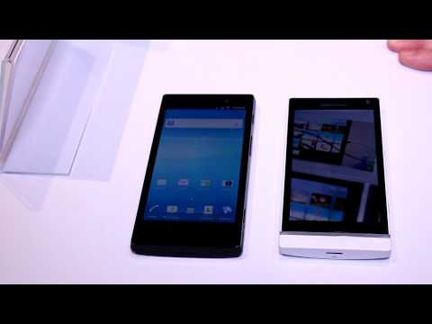 Sony Xperia S and Xperia Ion comparison