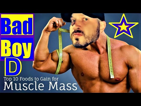 Nutrition for Lean Bulking & Growth | TOP 10 ALPHA MUSCLE BUILDING FOODS (Boost Testosterone)