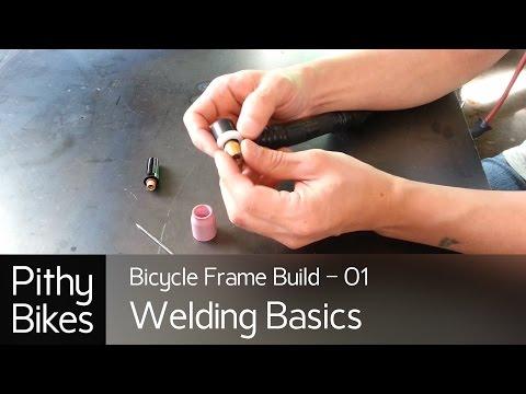 Bicycle Frame Build 01 - Welding Basics 01