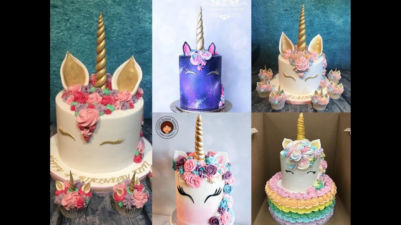 Amazing Unicorn Cake Decorating Tutorial Compilation ...