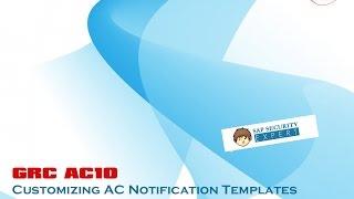 AC Bildirim Şablonları özelleştirme