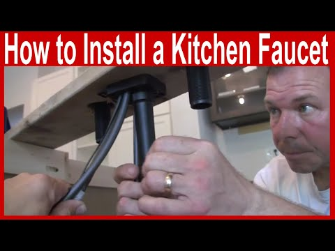 how-to-install-a-kitchen-faucet---delta-ashton-touch2o