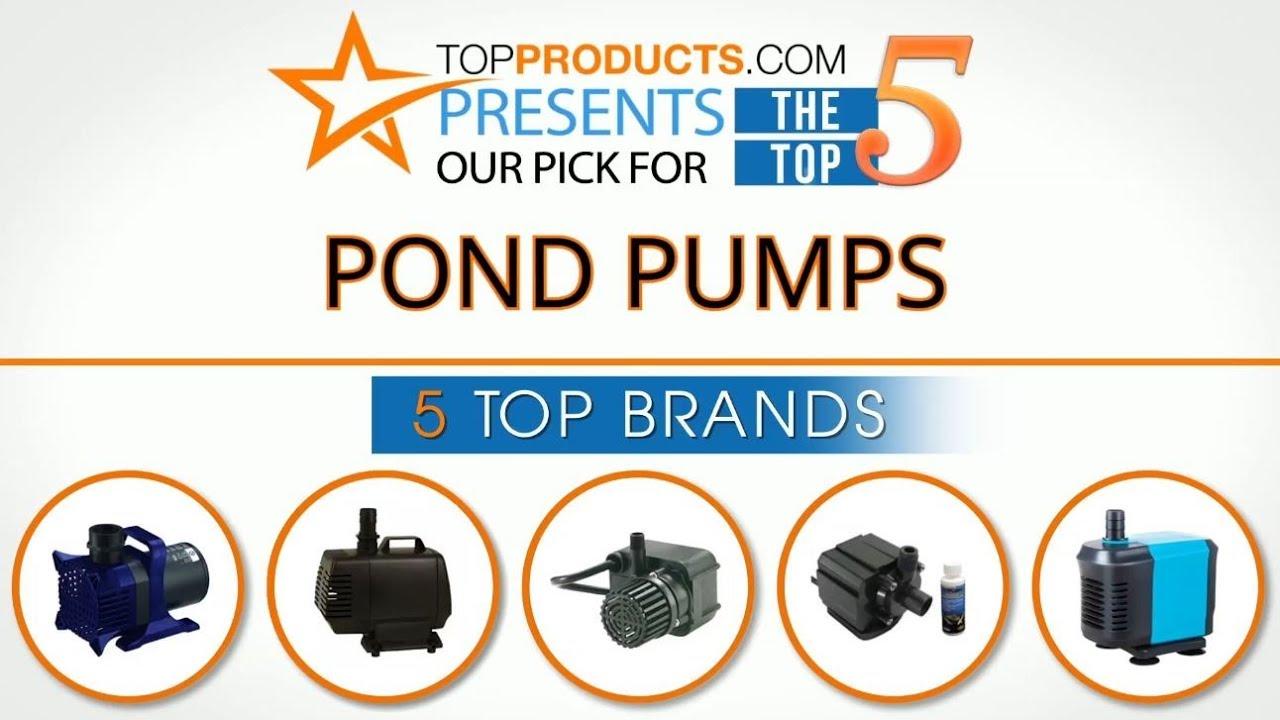 best pond pump reviews 2017 – how to choose the best pond pump