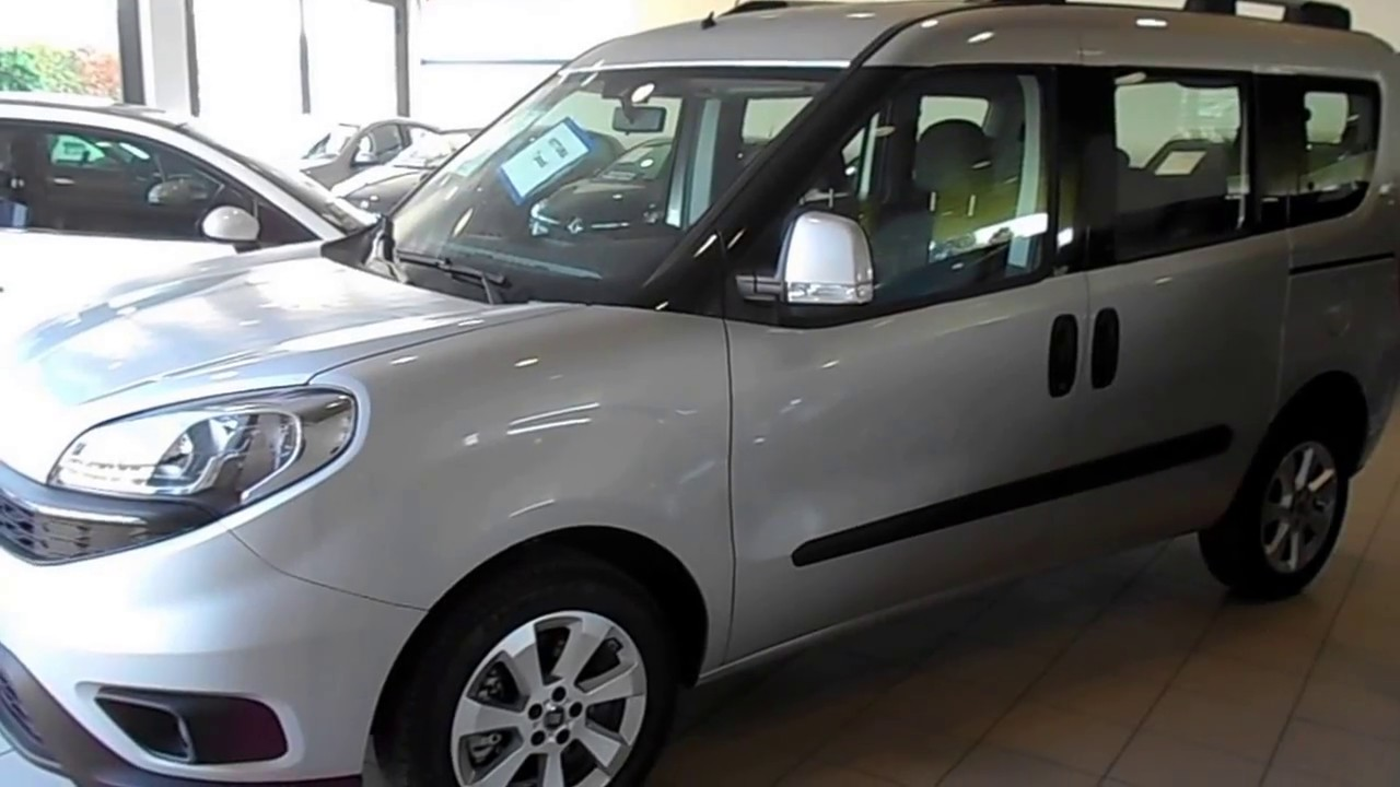 fiat doblo panorama 1 6 multijet 16v 120cv lounge 7 posti youtube. Black Bedroom Furniture Sets. Home Design Ideas