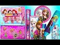 Disney Princess Pencil case and Stationery set!!