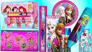 Disney Princess Pencil case and Stationery set