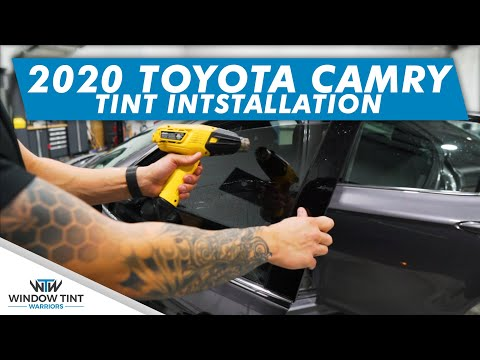 How To Install Precut Window Tint  – 2020 Toyota Camry