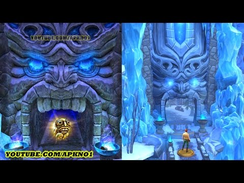 Temple Run 2 Frozen Shadows VS Temple Run Treasure Hunters Frozen Shadows