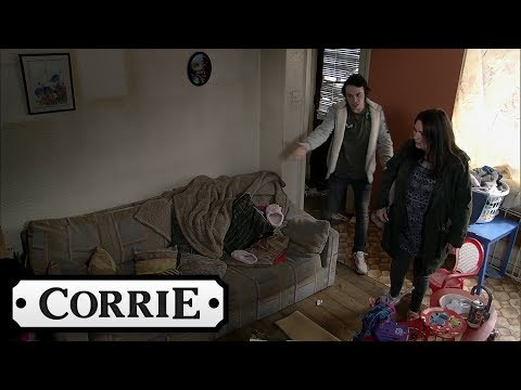 Anna Is Horrified to Discover Seb's Living Conditions - Coronation Street
