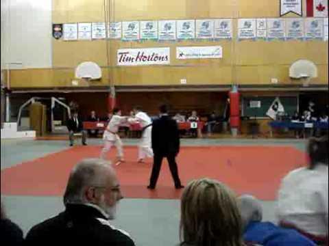 Judo match in New Brunswick, Canada #1