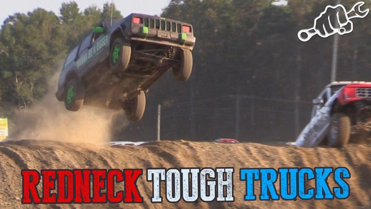 Carolina Motorsports Park >> REDNECK TOUGH TRUCK RACING - North vs South 2016 - YouTube