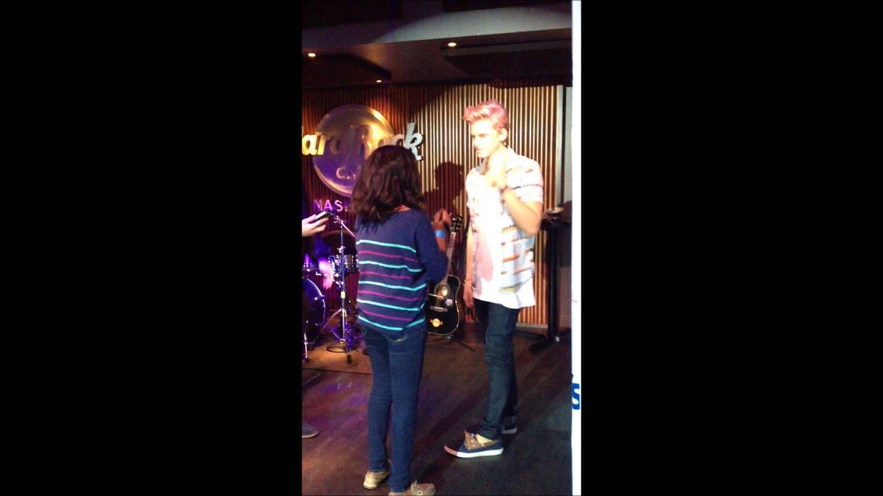 Cody Simpson Meet And Greet Nashville Youtube