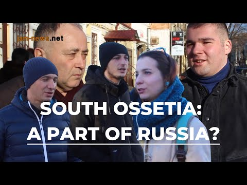 South Ossetia to become part of Russia, vox-pop in North Ossetia, Feb 2017, subtitled into  English