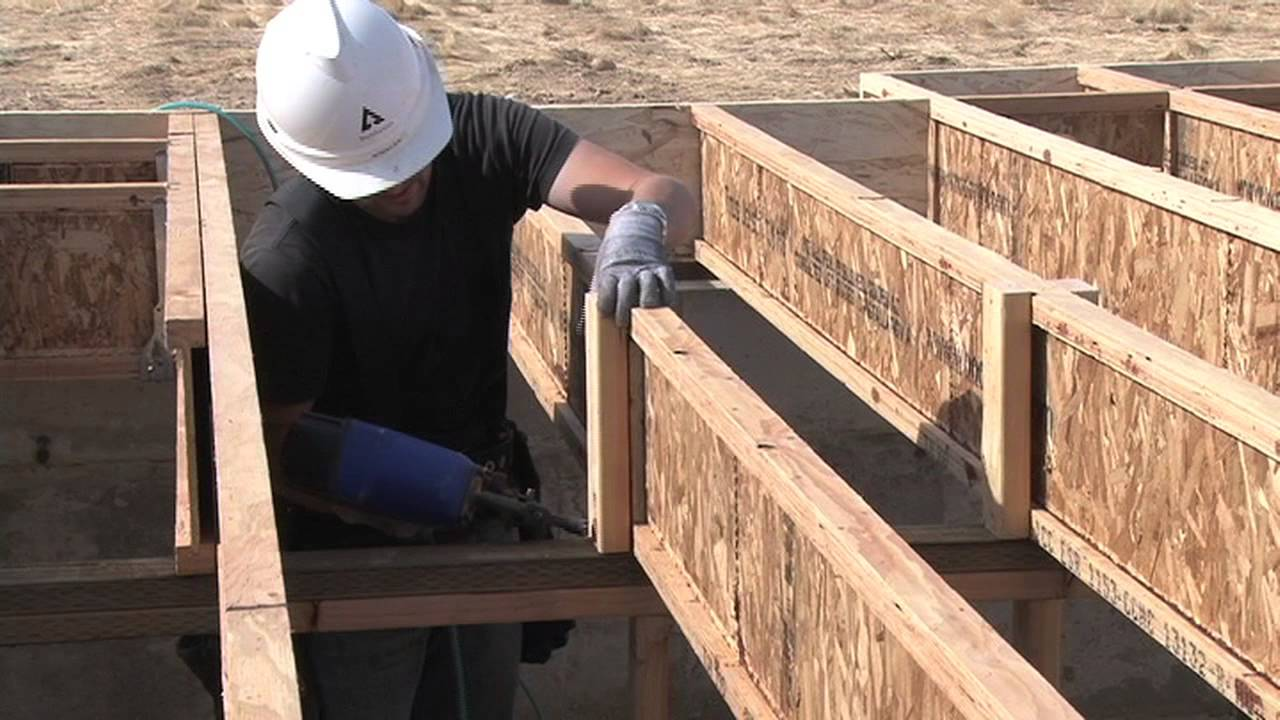 Manufactured wood floor trusses and joists | home owners network.