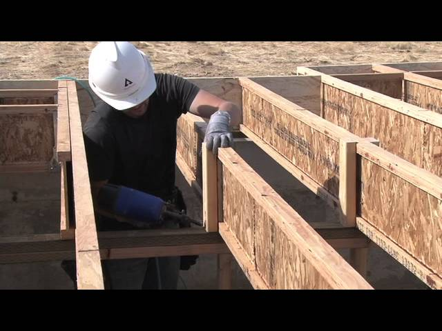 Detail #B2 / CS - Trus Joist EWP Floor Installation Guide