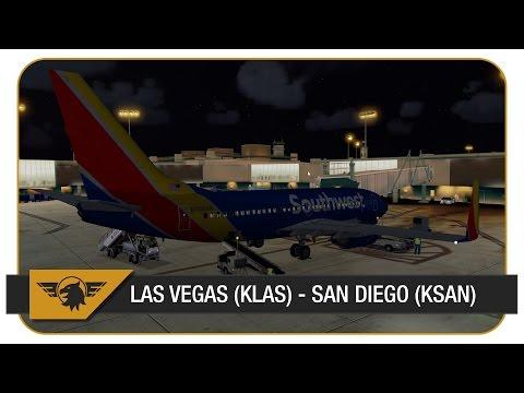 [Prepar3D] | Southwest | SWA347 | PMDG NGX | PilotEdge | FULL ATC | Vegas (KLAS) - San Diego (KSAN)