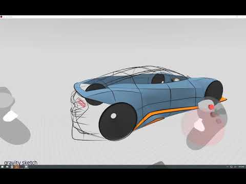 Gravity Sketch VR, Drawing a car tips and tricks PT4