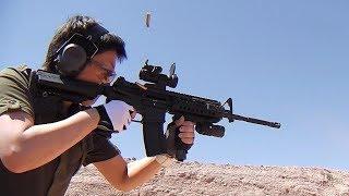 実弾射撃 コルト M4A1 S.I.R. 自動小銃  (Colt M4A1 S.I.R. Rifle)